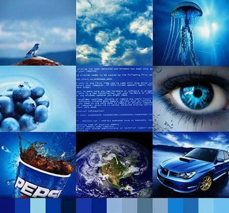significados del color azul
